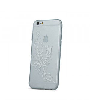 Silikónové puzdro Ultra Trendy Henna pre Apple iPhone 6/6s transparentné