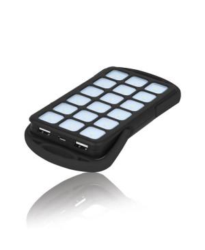 Externá nabíjačka 18 LED powerbank 6000 mAh TB-018 čierna