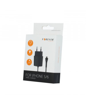 Nabíjačka T.C. pre Apple iPhone 5/6 FOREVER 2,1A