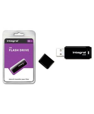 USB kľúč 32 GB Integral Pendrive 2.0 čierny