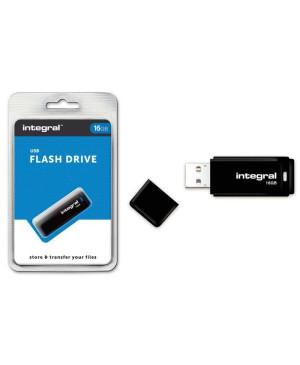 USB kľúč 16 GB Integral Pendrive 2.0 čierny