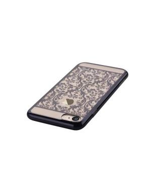 Silikónové puzdro Devia Baroque pre Apple iPhone 7/8 gun čierne