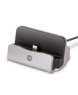 Dokovacia stanica pre Apple iPhone DS-01 lightning strieborná