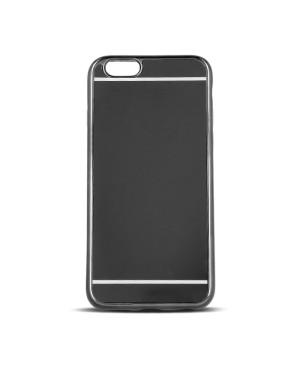 Plastové puzdro Beeyo Mirror pre Apple iPhone 7/8 čierne