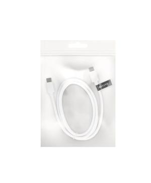 Micro USB kábel 2.0 biely