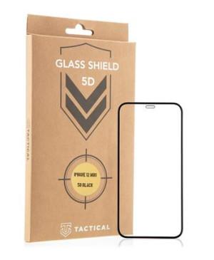 Tvrdené sklo na Apple iPhone 13 mini Tactical Shield 5D AntiBlue čierne