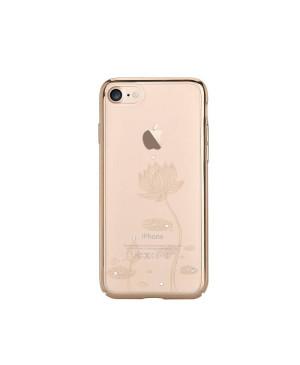 Plastové púzdro DEVIA Lotus iPhone 7/8 champagne zlaté