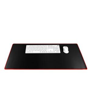 Podložka pod klávesnicu a myš pre hráčov čierna