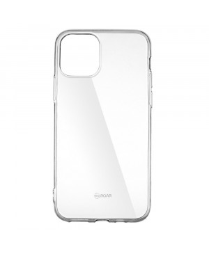 Silikónové puzdro Jelly Roar pre iPhone 12/iPhone 12 Pro  transparentné