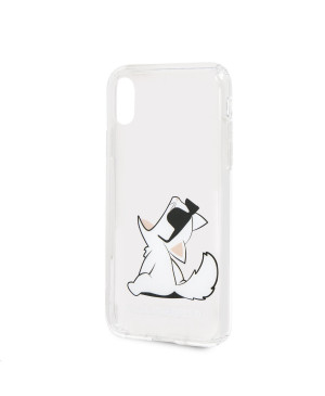 KLHCPXCFNRC Karl Lagerfeld Fun Choupette No Rope Hard Case pro iPhone X XS