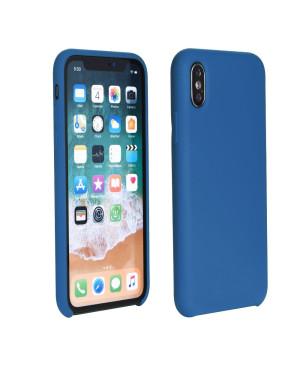 Silikónové puzdro na Samsung Galaxy A21s A217 Forcell Silicone modré