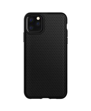 Silikónové puzdro na Apple iPhone 11 Pro Max Spigen Liquid Air čierne