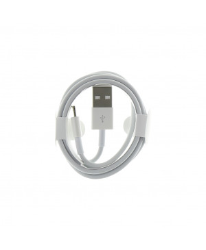 MD818 iPhone 5 Original Datový Kabel White (Round Pack)