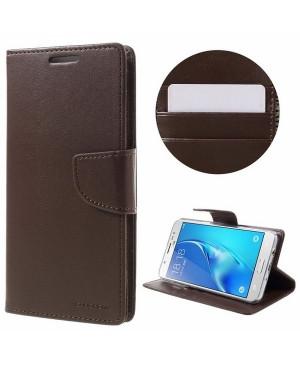 Diárové puzdro na Samsung Galaxy Note 20 N980 Mercury Bravo hnedé