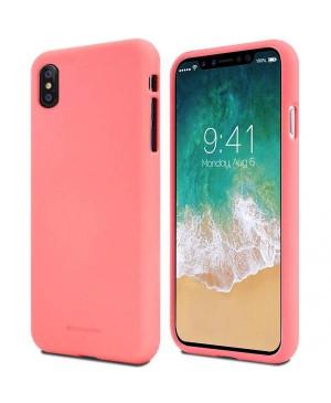 Silikónové puzdro na Apple iPhone 12 mini Mercury Soft ružové
