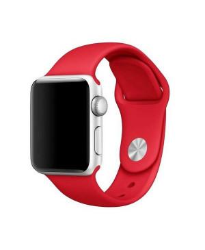 Náhradný remienok na Apple Watch 38 - 40 mm Mercury červený