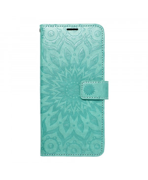 Diárové puzdro na Samsung Galaxy A03s A037 Forcell MEZZO mandala zelené
