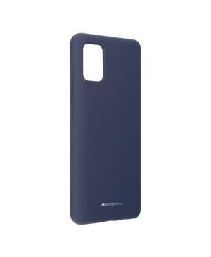 Silikónové puzdro Mercury Silicone pre Samsung Galaxy A51 A515 modré