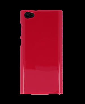 Silikónové puzdro pre myPhone Cube LTE ružové