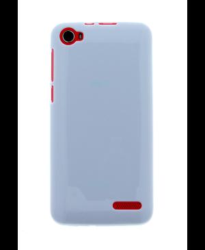 Silikonové puzdro pre  myPhone Fun 4 biele