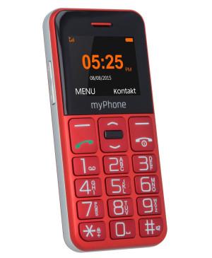 Seniorský myPhone HALO Easy červená