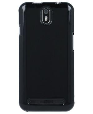 Silikónové púzdro myPhone Fun 5 čierne