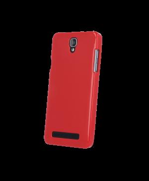 Silikonové puzdro pre myPhone Prime Plus červené