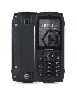myPhone Hammer 3, Dual SIM, Silver - SK distribúcia