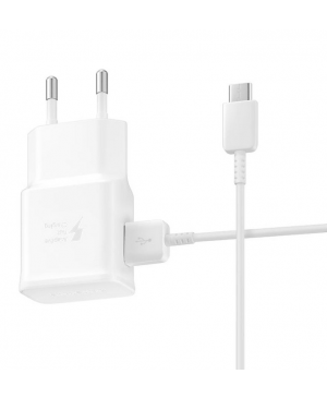 Sieťová nabíjačka 2A pre Samsung Galaxy S10/S10 Plus biela