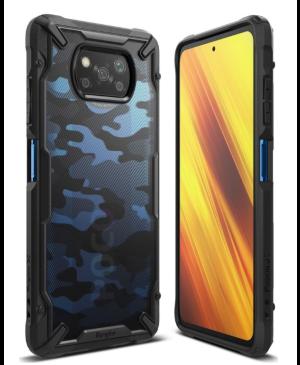 Plastové puzdro na Xiaomi Poco X3 NFC Ringke Fusion čierne