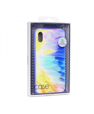 Púzdro Nillkin Ombre Hard Case iPhone XR fialové
