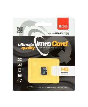 Pamäťová karta Imro microSD (TransFlash) 8 GB bez adaptéra