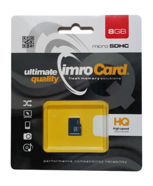 Pamäťová karta Imro microSDHC 8GB/C4 bez adaptéra