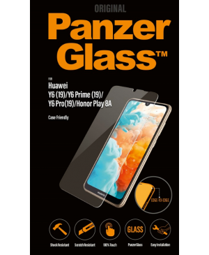 PanzerGlass Friendly pre Huawei Y6/Y6 Pro/Y6 Prime 2019/Honor Play 8A transparentné