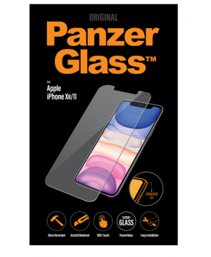 PanzerGlass Standard Fit pre Apple iPhone 11/XR transparentné