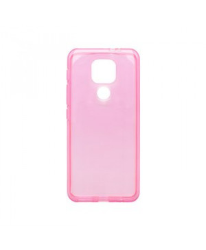 Silikónové puzdro Slim 0,3mm TPU pre Motorola Moto E7 Plus/G9 Play ružové