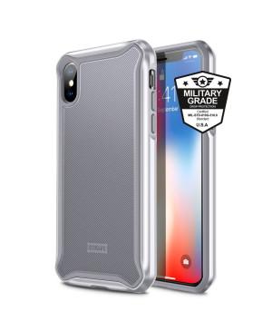 Plastové puzdro ESR Glacier pre Apple iPhone X/ XS strieborné