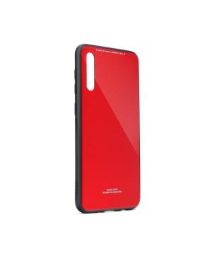 Plastové puzdro Glass Case pre Samsung Galaxy A70 červené