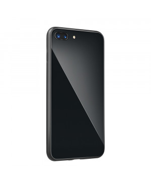 Plastové puzdro Glass case pre Xiaomi Redmi 6A čierne
