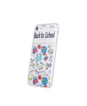 Silikónové puzdro School3 pre Samsung Galaxy A40 viacfarebné
