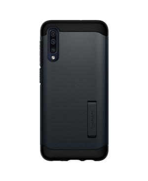 Plastové puzdro Spigen Slim Armor pre Samsung Galaxy A50 čierne