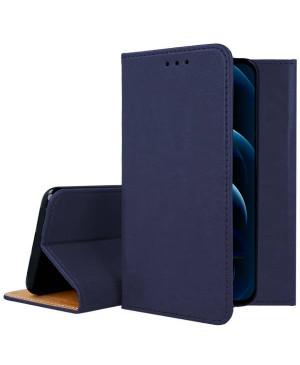 Diárové puzdro na Apple iPhone 12/12 Pro kožené modré