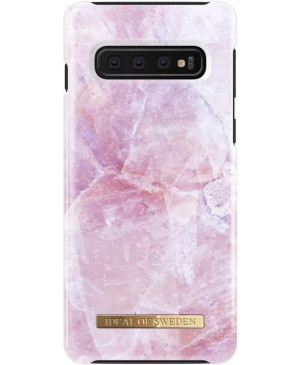 Plastové puzdro na Apple iPhone XR iDeal Of Sweden Golden Blush Marble