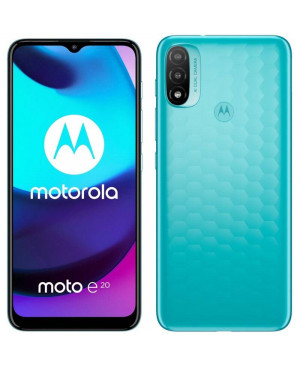Motorola Moto E20, 2/32GB, Dual SIM, Blue - SK distribúcia