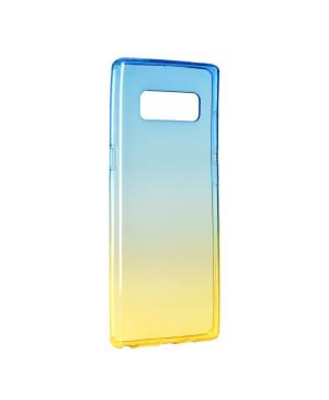 Plastové púzdro Forcell OMBRE Samsung Galaxy NOTE 8 modro zlaté