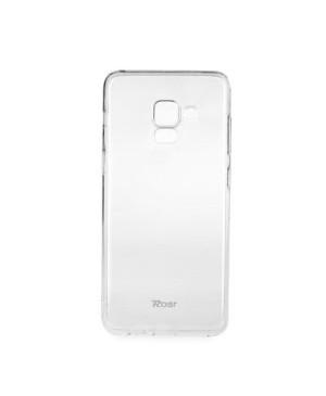 Silikonové puzdro Jelly  Roar pre Samsung  Galaxy A5 2018/A8 2018  transparentné