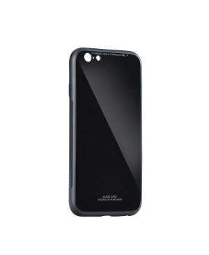 Plastové puzdro na Samsung Galaxy A71 Glass čierne