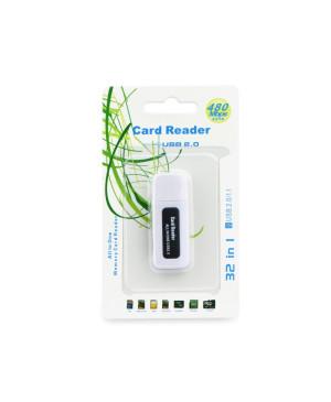USB kľúč Titanium Black SDHC/SD / MMC / RS-MMC / M