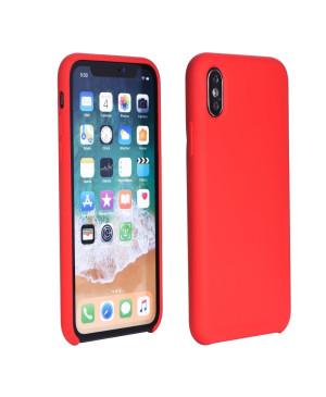 Silikónové puzdro na Samsung Galaxy A21s A217 Forcell Silicone červené