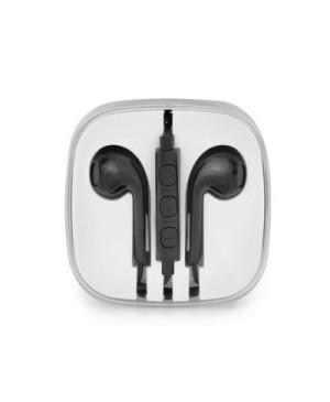 Handsfree slúchadlá Stereo pre Apple iPhone NEW BOX čierne